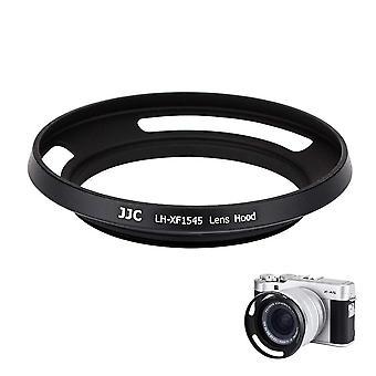 Capô de lente JJC compatível com fujinon xc15-45mmf3.5-5.6 ois pz lente (fujifilm x-a5 x-t100)