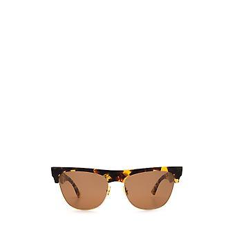Bottega Veneta BV1003S havana unissex óculos de sol
