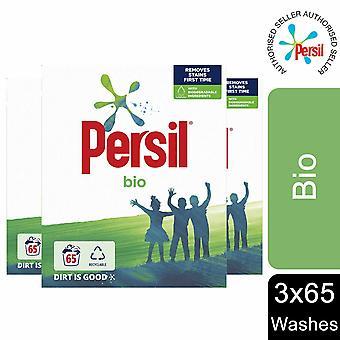 3 Pack Persil Bio Waschpulver, 65 Waschungen
