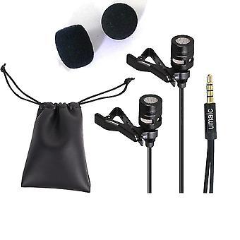 Clip portátil encendido - 3.5mm mini cableado, Jack manos micrófono gratis