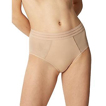 Maison Lejaby 171264-389 mujeres Nufit Power Skin beige puro panty Highcintura Brief