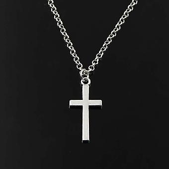 Double Sided Cross Antique Pendant Necklaces