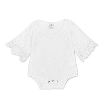 Summer Princess White Lace Bodysuit