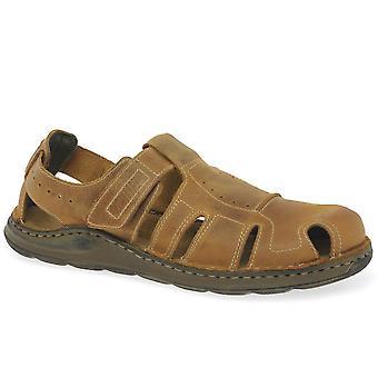 Josef Seibel Maverick 01 Mens Full Sandals