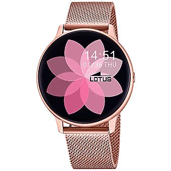 Lotus smartime 50015/1 Automatic Digital Women's Watch with Stainless Steel Bracelet 50015/1