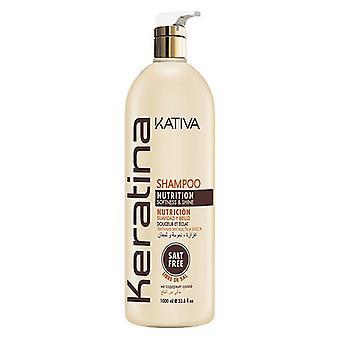 Shampoo Keratina Kativa (1000 ml)