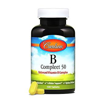 B Compleet 50 100 tablets