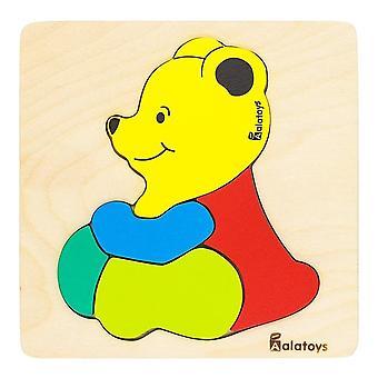 """Alatoys Wooden  Puzzles """"Bear"""""""