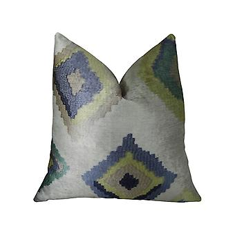 "Plutus Native Trail Dew Handmade Throw Pillow, (20"" X 20"")"