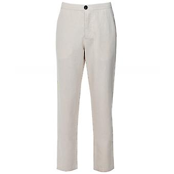 Oliver Spencer Cotton Linen Drawstring Trousers
