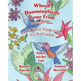 Where Hummingbirds Come from Bilingual Greek English