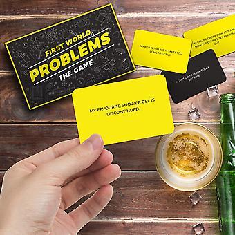 Första världen problem kortspel
