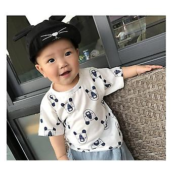 Kids T-shirt, Summer Baby Cotton Tops