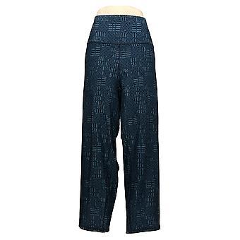 Vrouwen met controle Prime Stretch omkeerbare enkel jeans blauw A366039