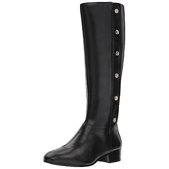 Nine West Womens Oreyan Leather Round Toe Knee High Fashion Boots