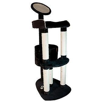 Arquivet Scraper Black 54X70X150Cm (Cats , Toys , Scratching Posts)