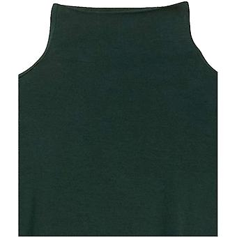 Marca - Daily Ritual camiseta de mujer camisa de manga larga de cuello embudo