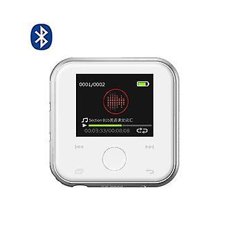 HIFI Player Bluetooth Mini Metal Video (Weiß)