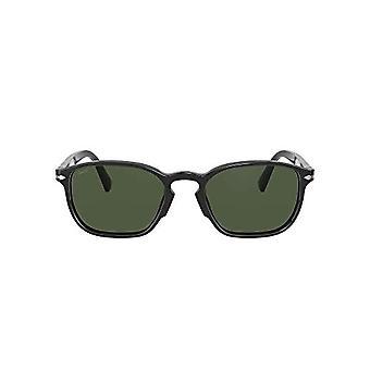 Persol 0PO3234S Glasses, Black/Green, 54 Men's