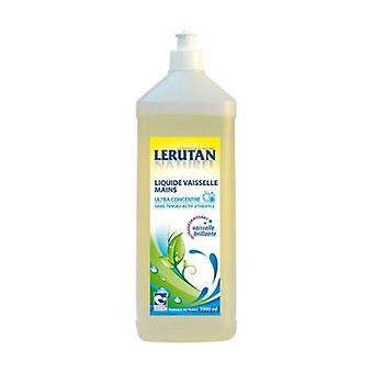 Ultra-concentrated hand dishwashing liquid with lemon scent 1 L