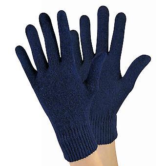 Dámske pletené termálna vlna zmes magické rukavice