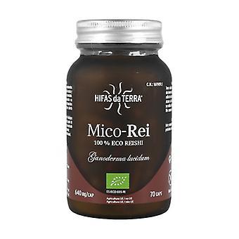Mico Rei (Ganoderma lucidum) 70 capsules of 640mg