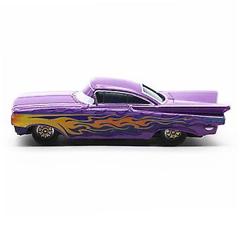 New Cars Racer Purple Ramone Children's Toy Simulation Car Model Alloy ES12877