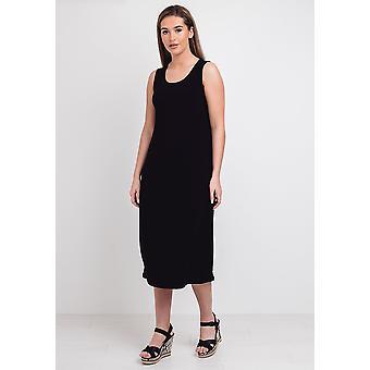 Naya sleeveless jersey midi dress