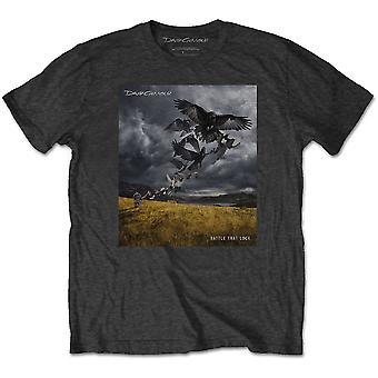 David Gilmour - Rattle That Lock Men's Large T-Shirt - Charcoal Grey