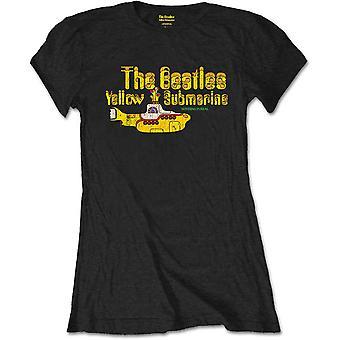 The Beatles - Nothing is Real Dames Medium T-Shirt - Zwart