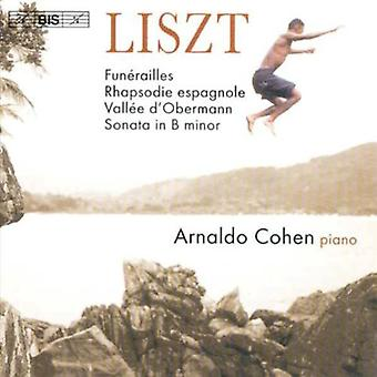 F. Liszt - Liszt: Pianosonate in B mineur, Etc. [CD] USA importeren