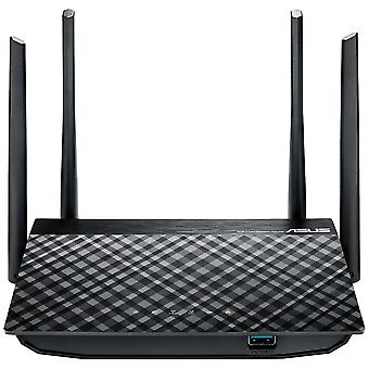 Asus (RT-AC58U V2) AC1300 (400+867) Wireless Dual Band GB Cable Router USB 2.0, AiDisk UK Plug
