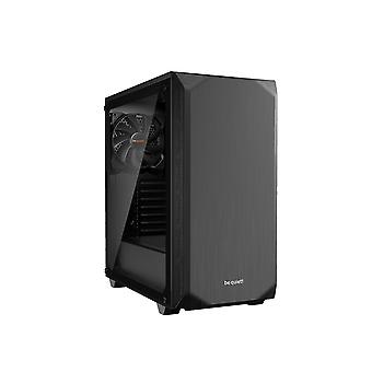 be quiet! Pure Base 500 Midi Tower Case - Black Tempered Glass