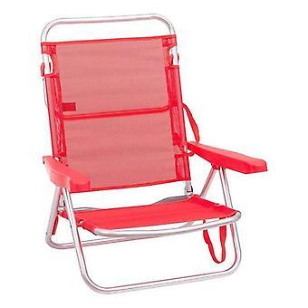 Beach Chair Juinsa Coral Aluminium (61 x 47 x 80 cm)