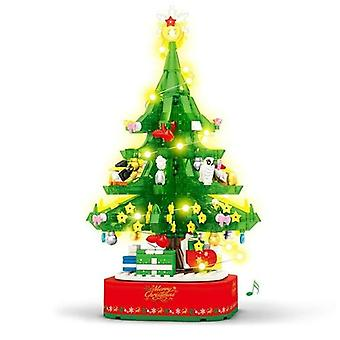 كتل بناء شجرة عيد الميلاد