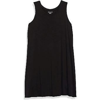 エッセンシャルズ 女性プラスサイズタンクスイングドレス