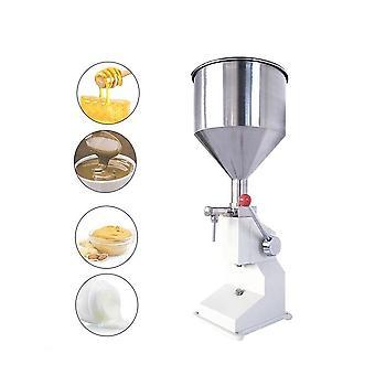 Machine de remplissage liquide de crème quantitative manuelle