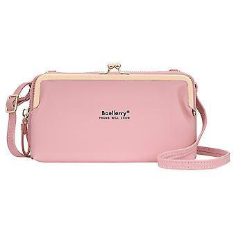 Многофункциональная сумка для мобильного телефона с горизонтальной емкостью модной дамы длинный кошелек