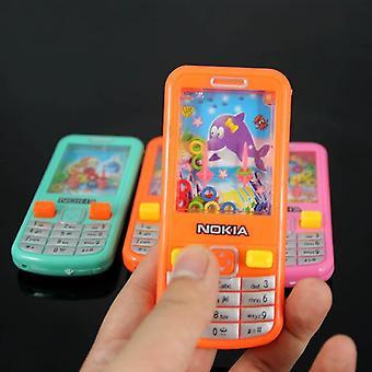 Vintage water telefoon machine delen games mobiele jeugd geheugen vermogen
