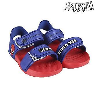 Children's sandals Spiderman 72400 Blue Red