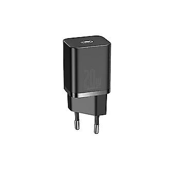 Charger  Fast Charging USBC Charger For IPhone 12Pro Xiaomi Wall Mobile Phone  Chargers(Black)