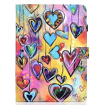 Case For Ipad Pro 11 2021 Cover With Auto Sleep/wake Pattern Magnetic - Love
