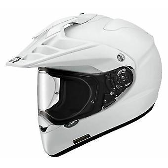 Shoei Hornet ADV Vanlig Dubbel Sport Full Face Dual Sport Hjälm Vit
