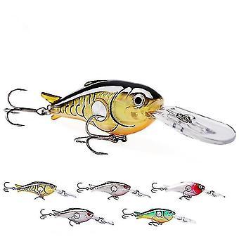 5ks 9cm 10g Wobbler Rybářské návnady Tvrdé Biat