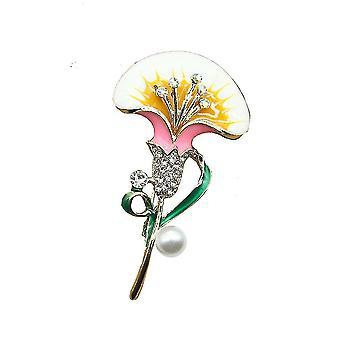Dámské brož poppy květina corsage retro šperky brož pin