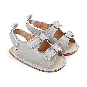 Νεογέννητα βρεφικά παπούτσια μωρών μαλακά σόλα κοίλα σανδάλια πάνινα παπούτσια