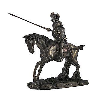 Дон Кихот Верховая езда Steed с Лэнс рисунок