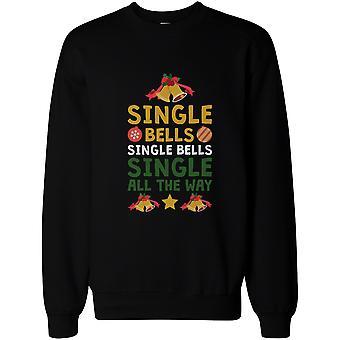 Enkelt klokker enkelt alle den måde X-mas Sweatshirt jul Pullover Fleece