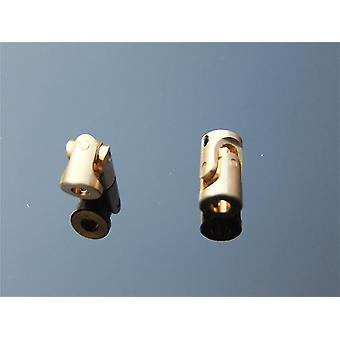 Electronics component connectors 3 3 mm micro copper cardan joint universal coupling