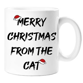 Merry Christmas From The Cat Mug